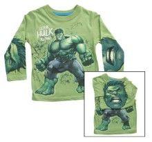 Marvel Boy's 2-7 Hulk Long Sleeve Tee