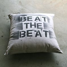 Paint Cloth Pillow now featured on Fab.