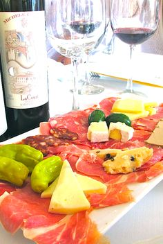 The Piemontese Wines of Michele Chiarlo pair brilliantly with Antipasti! | The Glamorous Gourmet
