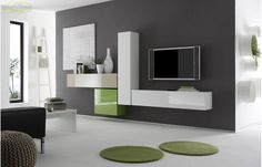 Soggiorno componibile moderno PR I modulART 6 | Living | Pinterest ...