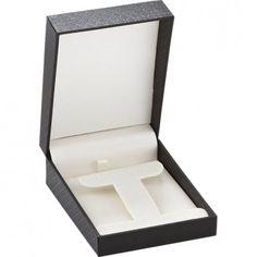 Black Designer Collection T-Earring/Pendant Box...(ST61-0751:100000:T).! Price: $9.99 #pendantbox #jewelrybox