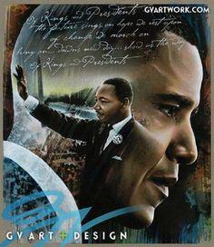Beautiful Inagural speech Mr. President ...Happy Birthday Dr. King