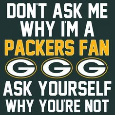 (Save Big) Green Bay Packers NFL Fan Slogan Car Bumper Sticker Decal X <br> Make sure this fits by entering your model number. High Quality Sticker Manufactured by Digital Printed on High Grade Adhesive Vinyl. Packers Memes, Packers Funny, Packers Gear, Packers Baby, Go Packers, Packers Football, Football Memes, Nfl Memes, Football Crafts