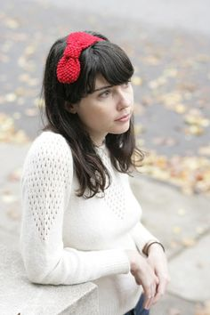 MAKE | CRAFT Pattern: Knit Bow Headband