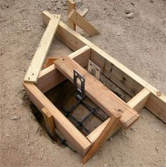 How to Pour Concrete Footings & Piers   HomeTips