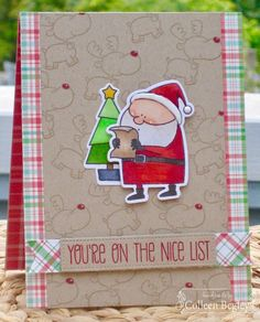 Colleen's Creative Corner: You're On the Nice List