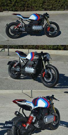 Moto Cafe, Cafe Bike, K100 Scrambler, Cafe Racer For Sale, Bmw K100, Bmw Wallpapers, Cafe Racing, Café Racers, Street Tracker