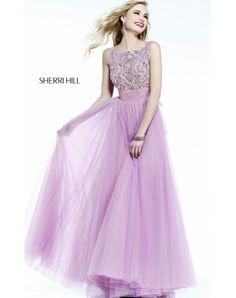 Orchid Sherri Hill 11022 Long Prom Dress