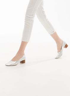 Sapato tacão madeira - Sapatos de salto - Calçado - Uterqüe Portugal