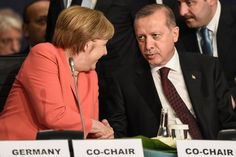 "Russia has a ""special responsibility to calm violence and give a political process a chance"" in Syria, Angela Merkel and Recep Tayyip Erdogan said. Revenge, No Response, Germany, Songs, Couple Photos, News, Political Process, Calm, Europe"