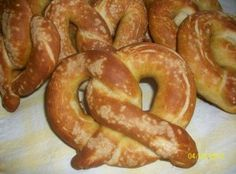 Amish Friendship Bread Soft Pretzels