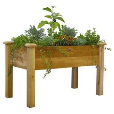 Found it at Wayfair - Rustic Elevated Garden Bed