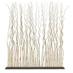 I pinned this Essex Bamboo Room Divider from the Pradesh Collection event at Joss and Main!  Thinking I could make something like this for the living/dining divider