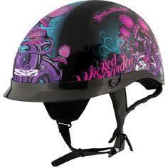 Wicked garden half helmet
