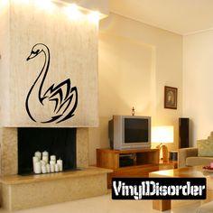 Bird Wall Decal - Vinyl Decal - Car Decal - DC109