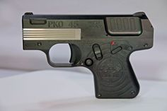 Heizer Defense new and upcoming PKO A revolutionary semi-automatic pistol! Concealed Carry Weapons, Weapons Guns, Guns And Ammo, Home Defense, Self Defense, Ak Pistol, Pocket Pistol, Battle Rifle, 45 Acp
