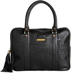 Elizabeth Laine Handbags Marietta Satchel - Black