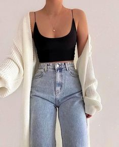 Fashion Inspiration And Trend Outfits For Casual Look - Fashion Inspiration And Trend Outfits For Casual Look You are in the right place about diy projects - Teen Fashion Outfits, Mode Outfits, Retro Outfits, Look Fashion, Trendy Outfits, Girl Outfits, Modest Fashion, 70s Fashion, Korean Fashion