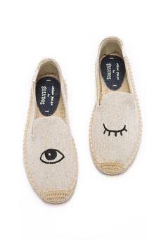 6abc350c2ac41a Jason Polan x Soludos Wink Smoking Slipper Espadrilles