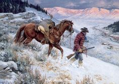 """""""No Place Like Homeby Clark Kelley PriceOpen Edition, Image Size 16x24 -Western Art"""