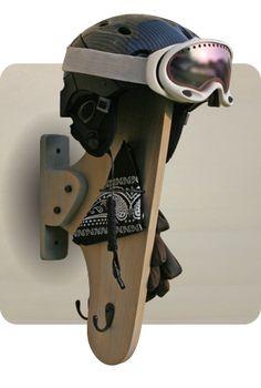 Snow Helmet Gear Racks