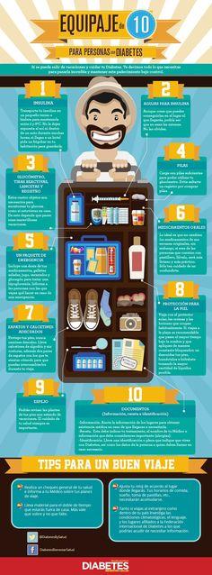 Tips para salir de viaje con Diabetes #Diabetes