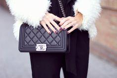Boy Chanel bag, Chanel Le Boy, Boy bag blogger