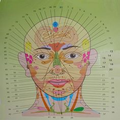 Position Of The Acne On Your Face