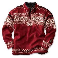 Dale of Norway Anniversary Quarter-Zip Sweater -- Orvis.com!