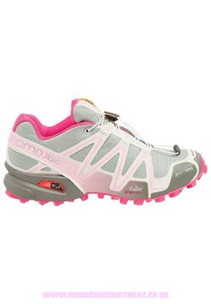 Shop For Womens Shoes - Salomon Speedcross 3 Cs - Trail Running Shoes - Green Clay/Light Grey/Sakura Pink volp985e9caa