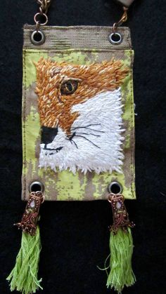 Items similar to Foxy on Etsy Catching Mice, Tiny Treasures, Inventions, Hand Embroidery, Upcycle, Antiques, Pattern, Etsy, Inspiration