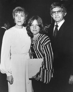 Blake Edwards, Julie Andrews and Emma Walton (Julie's daughter) in Las Vegas August 1976