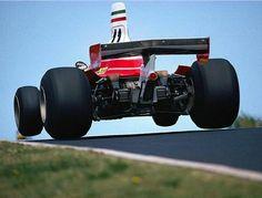 Clay Regazzoni (Ferrari 312T F-1) Nurbugring Nordschleife  1975