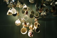 The most wonderful thing about teacups is you can do ANYTHING with them! Mix and match... It makes them more beautiful.