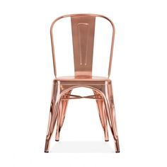Xavier Pauchard Style Rose Gold Chair | Industrial Chair | Cult UK