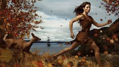 = Real-Life Pocahontas - Celebs Who Have Had a Disney Character Makeover - Zimbio