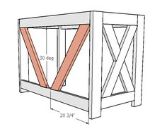 DIY Farmhouse Desk plans that will make your home office pop! Need an office farmhouse desk to spice up the home office? These DIY Desk Plans will make your office come to life. Diy Wood Desk, Rustic Desk, Diy Desk, Wooden Diy, Woodworking Furniture Plans, Woodworking Projects Diy, Diy Wood Projects, Furniture Projects, Woodworking Patterns