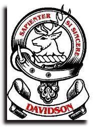 Clan Davidson ~ I descend from Major William Davidson (1736-1814) & Magaret McConnell through their son, John and his son, Hugh.