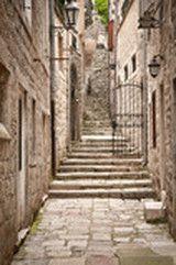 Traditional Adriatic house - zamów plakat, obraz, naklejkę lub fototapetę