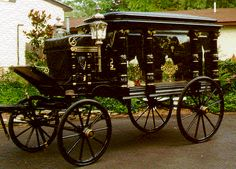 United States Carriage Company hearse again. Very fancy.