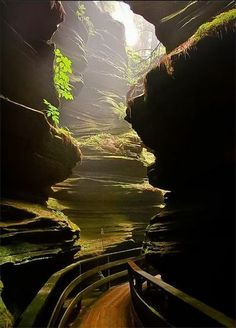 USA places to go: Devil's Lake State Park, Witches Gulch, Wisconsin Dells, USA Hey girls . this is for when we go to the Dells somewhere in our future. Places To Travel, Places To See, Camping Places, Hidden Places, Travel Destinations, Wisconsin Dells, Wisconsin River, Wisconsin Vacation, Baraboo Wisconsin