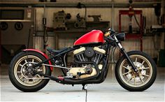 Custom Harley Davidson with Iron Man coloring..