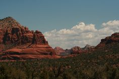 Sedona Az. Mountains