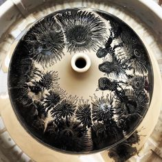 The past few weeks a video of ceramic artist Kevin Kowalski has gone viral on social media. Kevin is the creator of mesmerizing pottery designs using a pottery