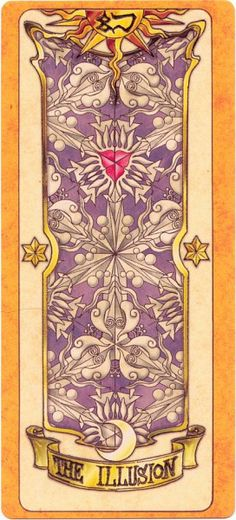 This is The Illusion Clow Card from the Card Captor Sakura anime and manga series by CLAMP Anime Fantasy, Manga Anime, Anime Eyes, Cardcaptor Sakura, Sakura Card Captor, Clamp, Serie Manga, Clear Card, Monster Musume No Iru