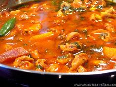 African chicken curry recipe voted best recipe by Food June 2013