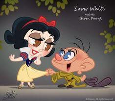 Disney Chibi - disney-princess fan art