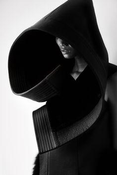 dark black