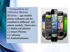 Spy Mobile Phone Software For Smart Phones In Bangalore