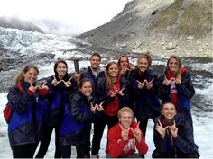 Study abroad (These Badgers are on a trip to New Zealand while studying in Australia!)